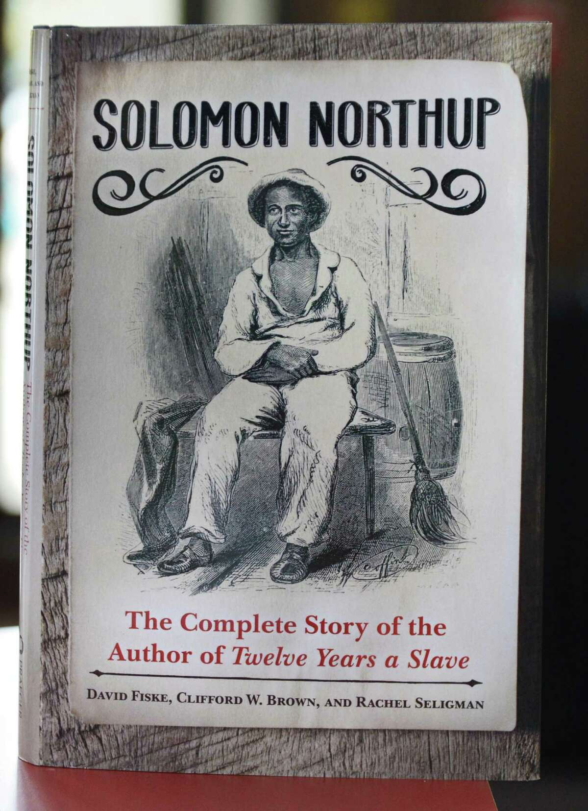 A new, full biography of Solomon Northup by local authors David Fiske, Rachel Seligman, and Clifford Brown Wednesday Oct. 16, 2013, in Saratoga Springs, NY. (John Carl D'Annibale / Times Union)