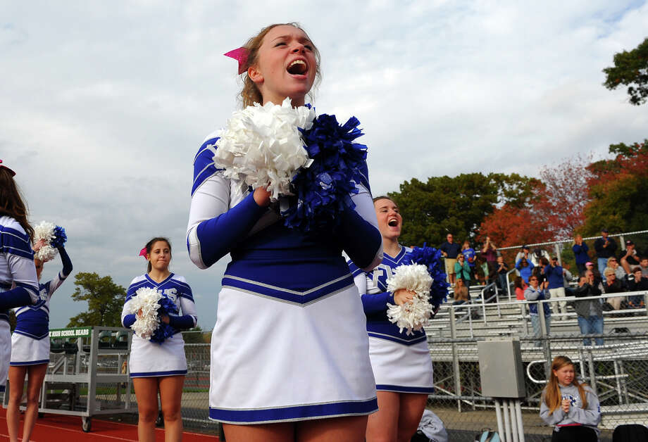 High school football action between Fairfield Ludlowe and Norwalk in Norwalk, Conn. on Saturday October 19, 2013. Photo: Christian Abraham / Connecticut Post