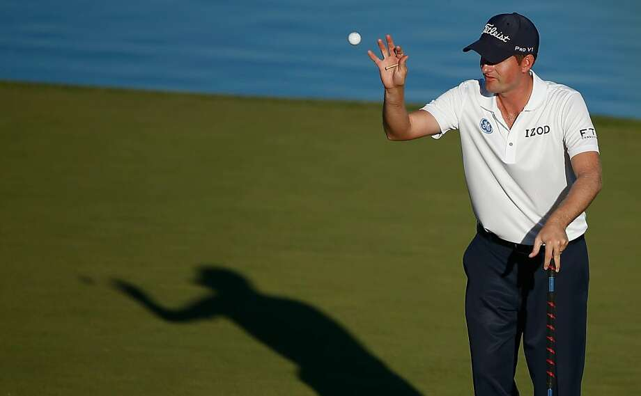Webb Simpson leads by four strokes in Las Vegas. Photo: Scott Halleran, Getty Images