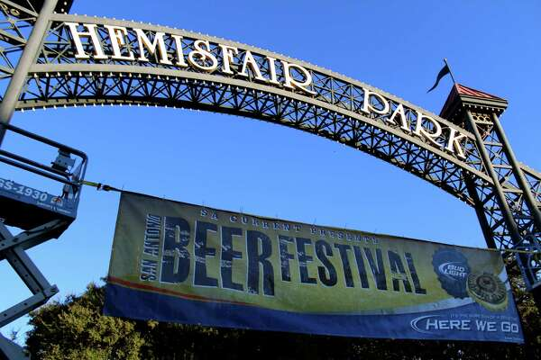 Suds and smiles were in abundance during the S.A. Current Beer Festival at Hemisfair Park on Oct. 19, 2013.