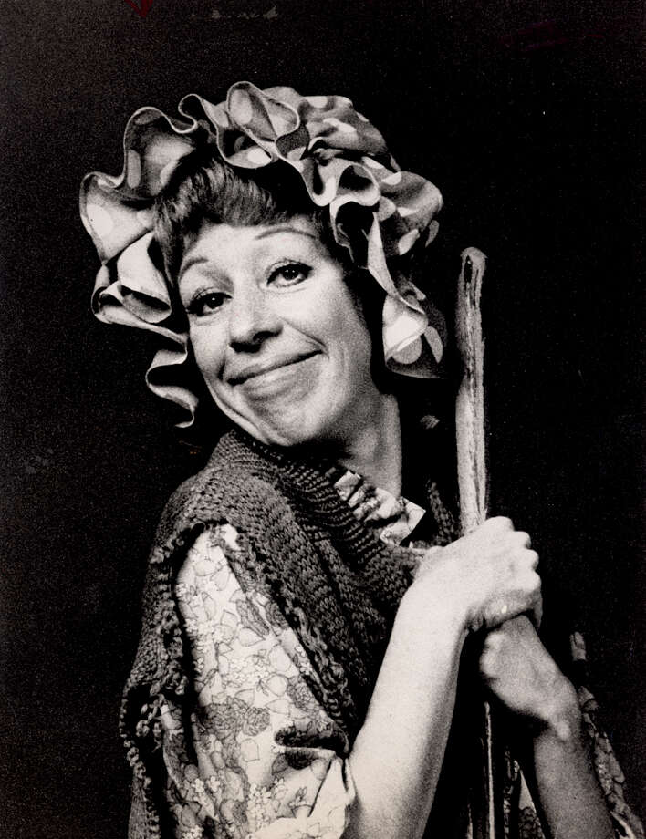 Carol Burnett's melancholy charlady character was reminiscent of Charlie Chaplin. Photo: COURTESY PHOTO