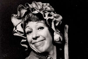 Carol Burnett's melancholy charlady character was reminiscent of Charlie Chaplin.