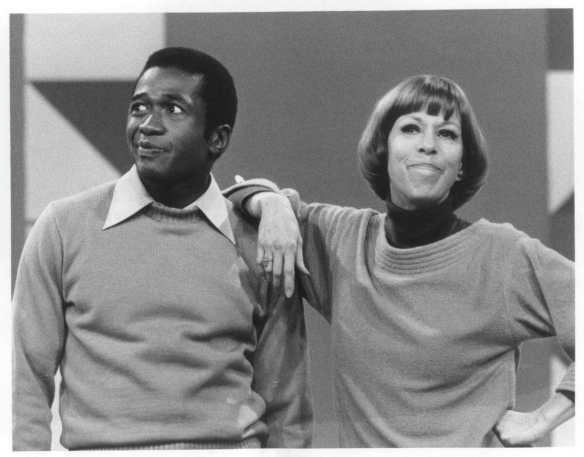 Guest star Ben Vereen teams up with host Carol Burnett in a musical salute to composer Harold Arlen on 'The Carol Burnett Show' in 1977.