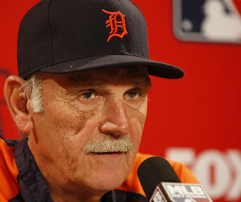 Detroit Tigers manager Jim Leyland during news conference before Game 6 of the American League Championship Series against the Boston Red Sox at Fenway Park in Boston, Massachusetts, on Saturday, October, 19, 2013. (Julian H. Gonzalez/Detroit Free Press/MCT) Photo: Julian H. Gonzalez, McClatchy-Tribune News Service