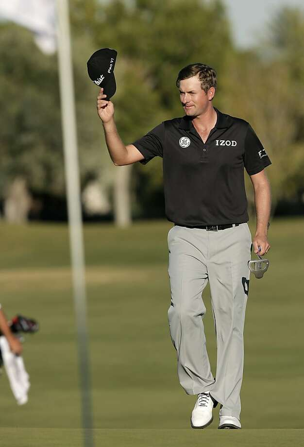 Webb Simpson won for the first time since the 2012 U.S. Open. Photo: Julie Jacobson, Associated Press