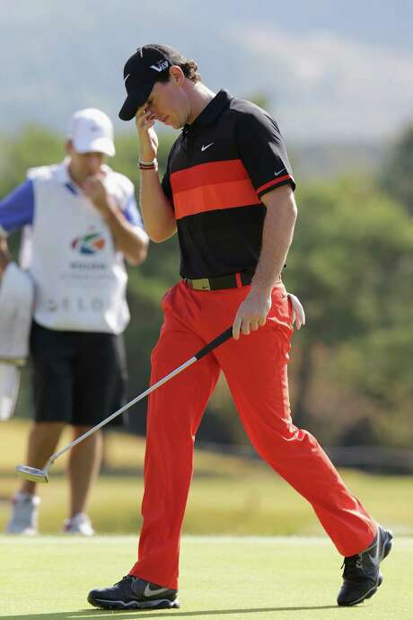 Rory McIlroy finished tied for second in the Korea Open. It was his best finish since he came in second at the Valero Texas Open in the spring. Photo: Han Myung-Gu / Getty Images