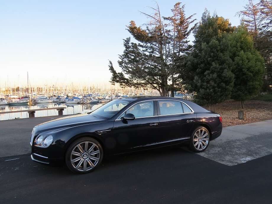 The 2014 Bentley Flying Spur. Showroom price: $214,265. (All photos by Michael Taylor)