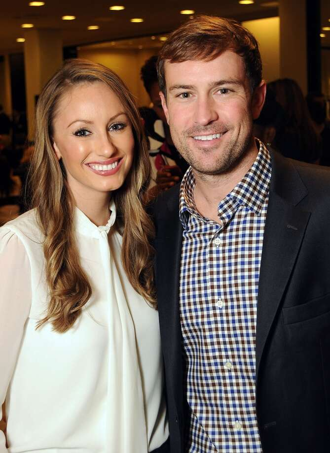 Olivia Holland and James Minahan III Photo: Dave Rossman, For The Houston Chronicle