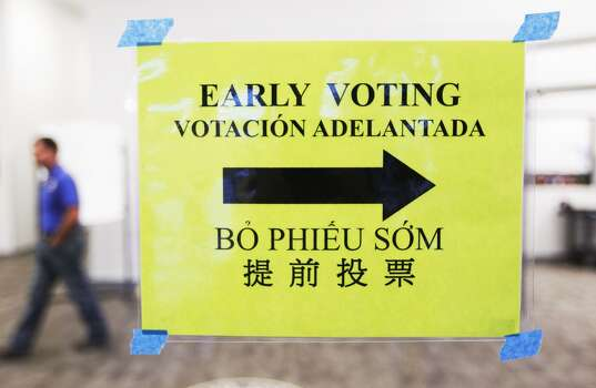 Early voting starts today - Houston Chronicle