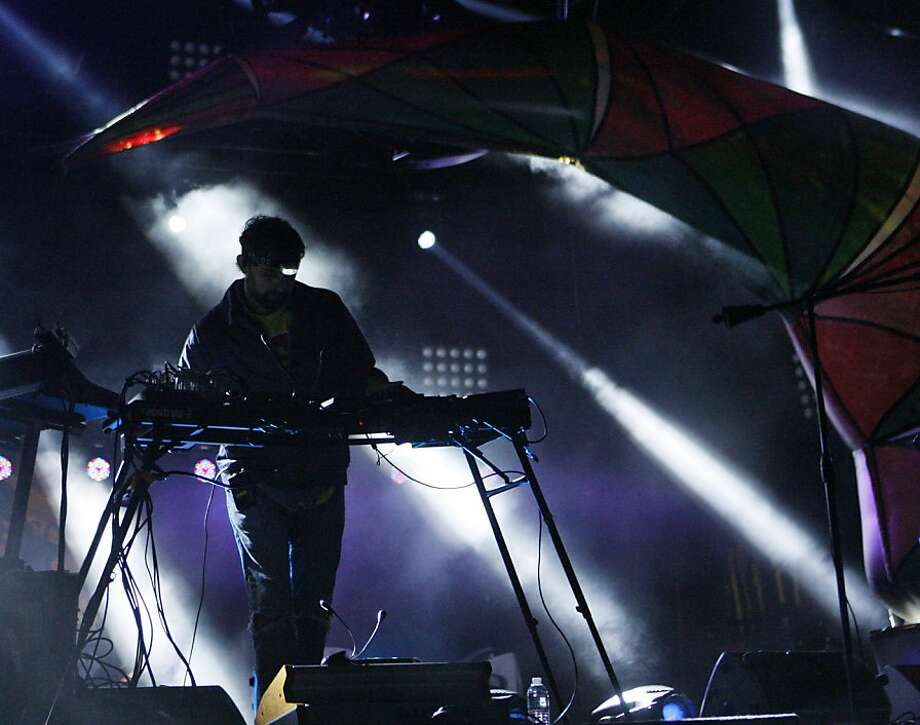"Brian Ross Weitz aka ""Geologist"" of Animal Collective performs at the Treasure Island Music Festival in San Francisco, Calif. on Sunday, Oct. 20, 2013. Photo: Raphael Kluzniok, The Chronicle"