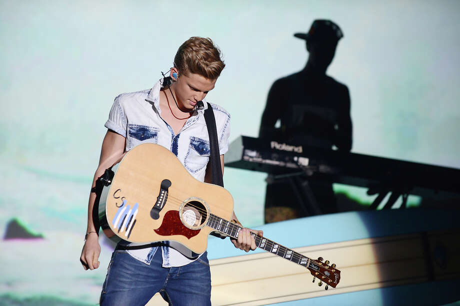"Cody Simpson performs at ""Hub Network's First Annual Halloween Bash"" on Sunday, Oct. 20, 2013, at the Barker Hanger in Santa Monica, Calif. The star-studded special will be broadcasted on the Hub Network on Saturday Oct. 26, 2013. Photo: Jordan Strauss, Jordan Strauss/Invision/AP / Invision"