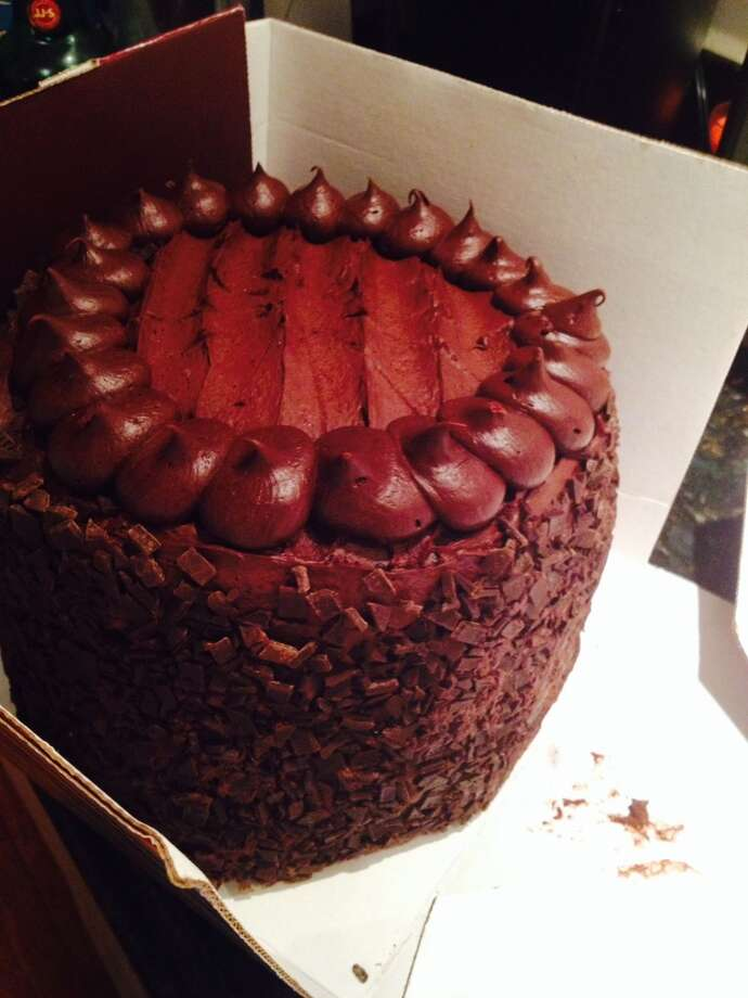 Submitted by John Vincent Xavier Adams. Cheese Cake Factory's Chocolate Tower Truffle Cake- approximately 1,900 kcal per slice. I think I ate about half the cake. Thank goodness for a fast metabolism and a serious gym addiction.