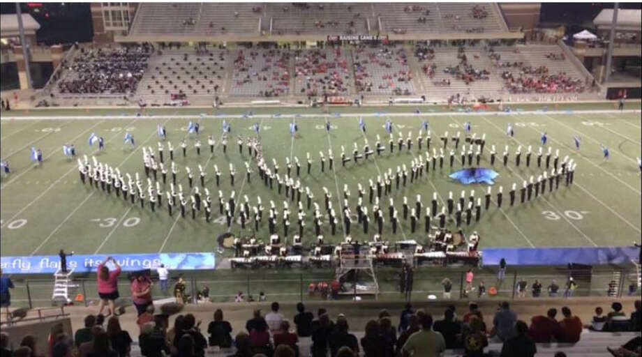 The Cypress Falls High School band placed first in its division at the USBands Cypress Showcase at Pridgeon Stadium in Cypress. Photo: Photo Courtesy Of Cypress-Fairbanks Independent School District