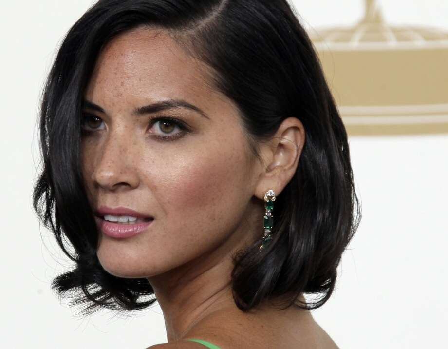 Olivia Munn - Trichotillomainia (Urge to pull out hair in stressful situations. In her case it's eyelashes.) Photo: Jae Hong, ASSOCIATED PRESS