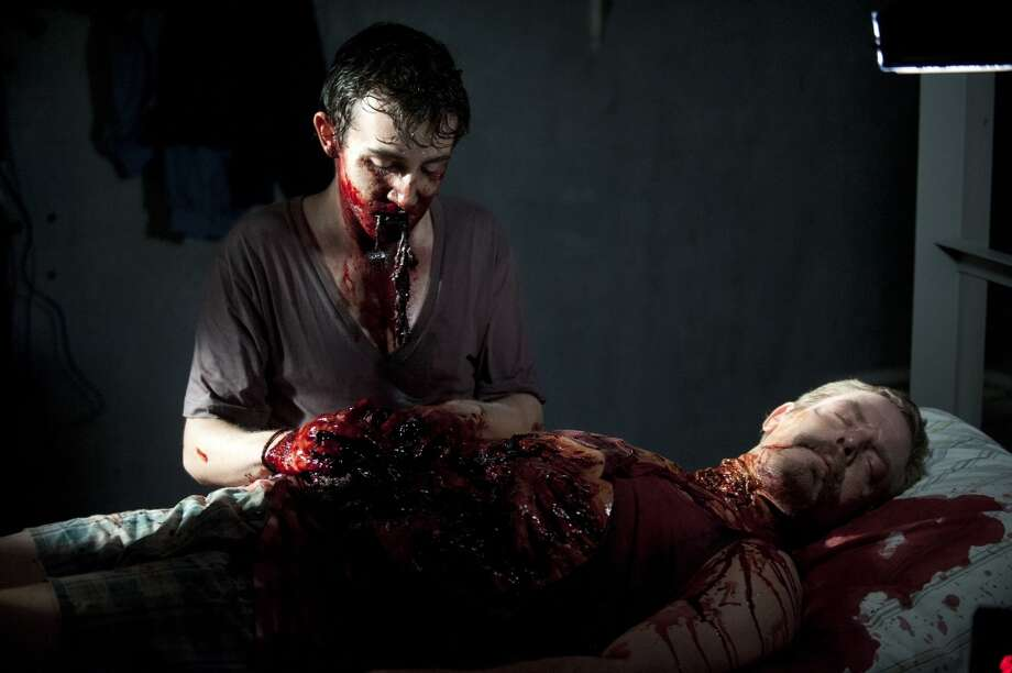 Walker Patrick (Vincent Martella) - The Walking Dead _ Season 4, Episode 2 - Photo Credit: Gene Page/AMC