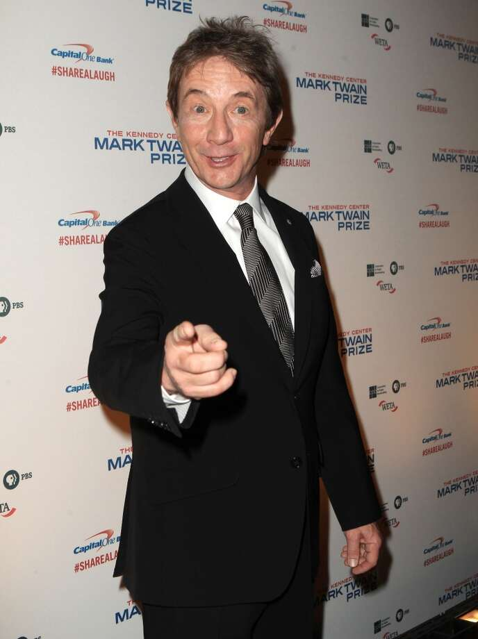 Martin Short arrives at 16th Annual Mark Twain Prize presented to Carol Burnett at the Kennedy Center on Sunday, Oct. 20, 2013 in Washington, D.C. (Photo by Owen Sweeney/Invision/AP) Photo: Associated Press