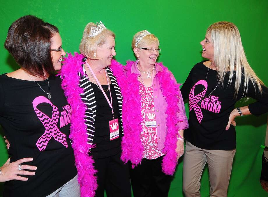 Shannon Bratton, Priscilla Avery, Louise Bratton and Kim Rooks attend the North Cypress Medical Center Project Pink 2013 event benefiting the Houston affiliate of Susan G. Komen for the Cure on Oct. 19. Photo: © Tony Bullard 2013, Tony Bullard / © Tony Bullard & the Houston Chronicle