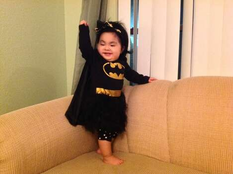 "In 2013 my 10 months Teresita ""Catgirl"" will be her first Halloween.