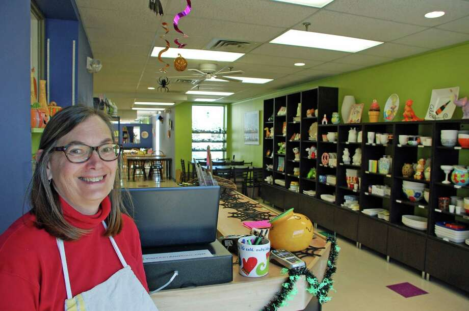 Pam Heberton, owner of Art & Soul in New Canaan, has owned the studio for four years and recently completed some extensive renovations. Jarret Liotta/For the New Canaan News Photo: Contributed Photo, Contributed / New Canaan News Contributed