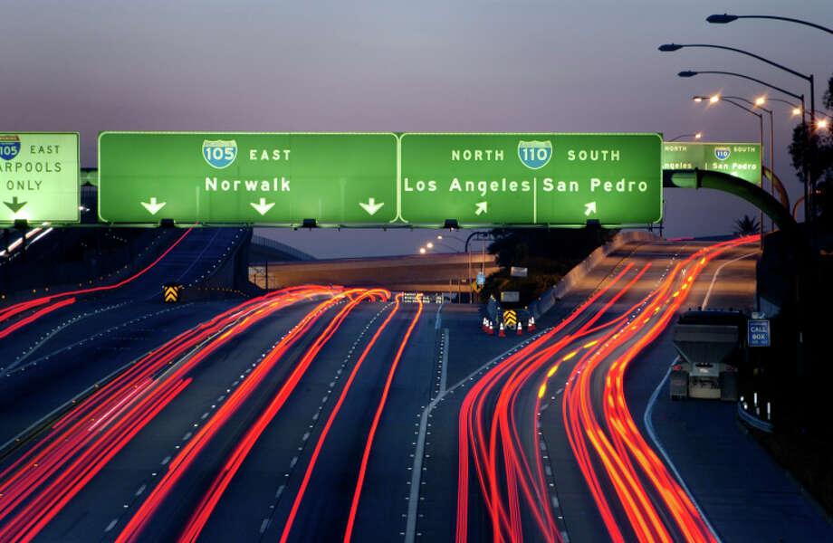 6. Los Angeles, Calif. Photo: Image Source RF/Owen Smith, Getty Images/Image Source / (c) Image Source