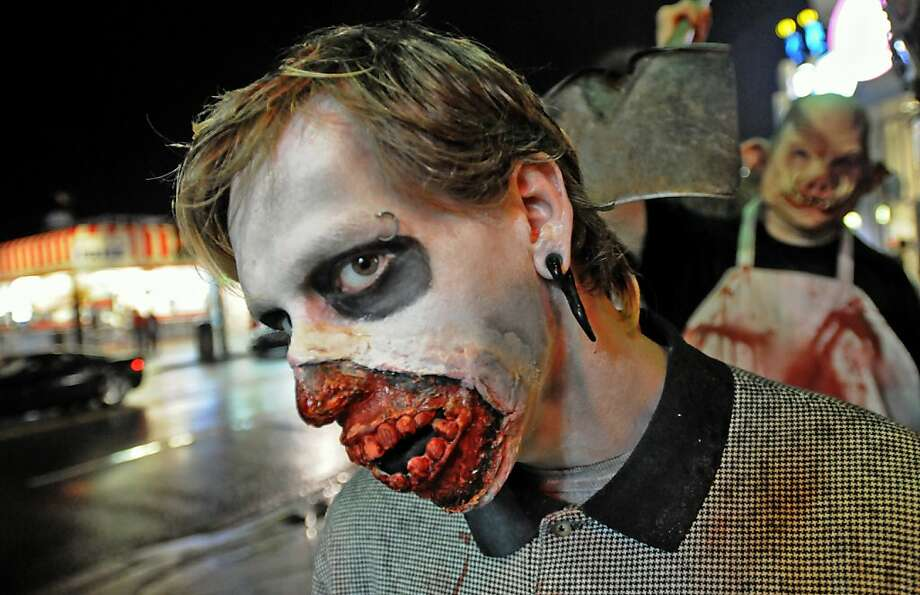 "Anybody have a ChapStick® I could borrow? My lips are a little dry. (""Zombie quarantine 
