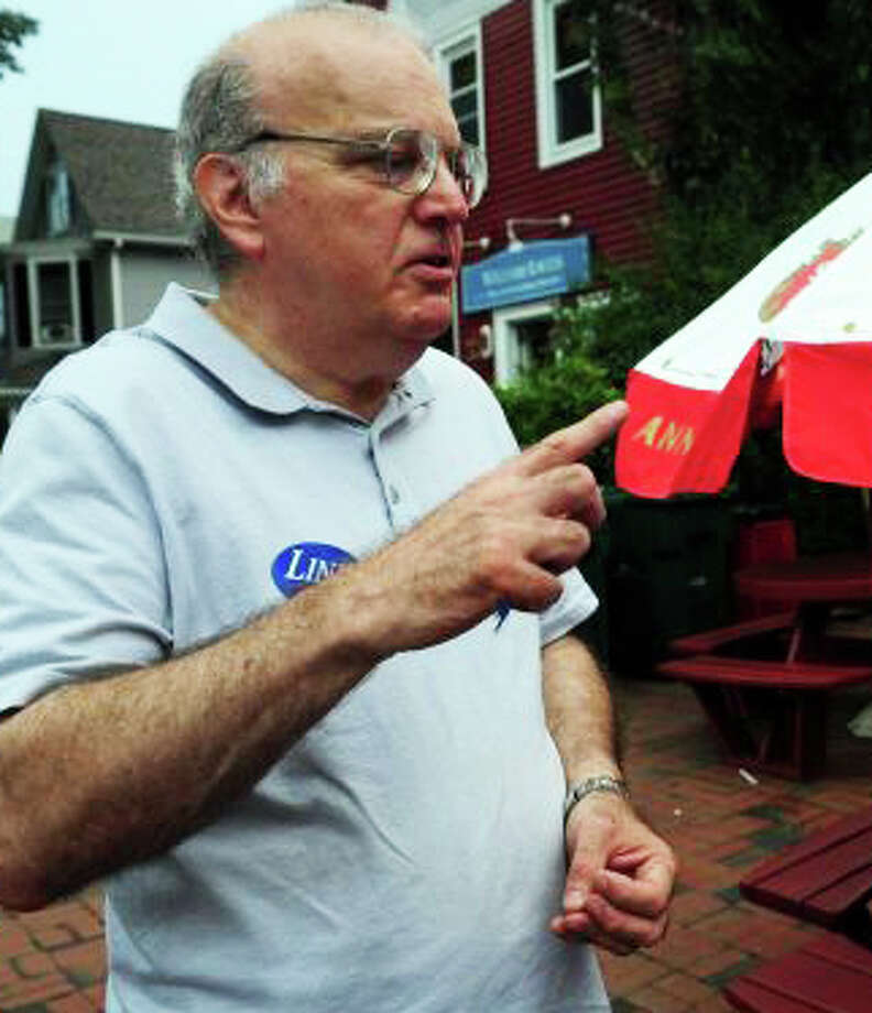 Republican Registrar of Voters Roger Autuori was charged Friday with breach of peace. Photo: File Photo / Fairfield Citizen
