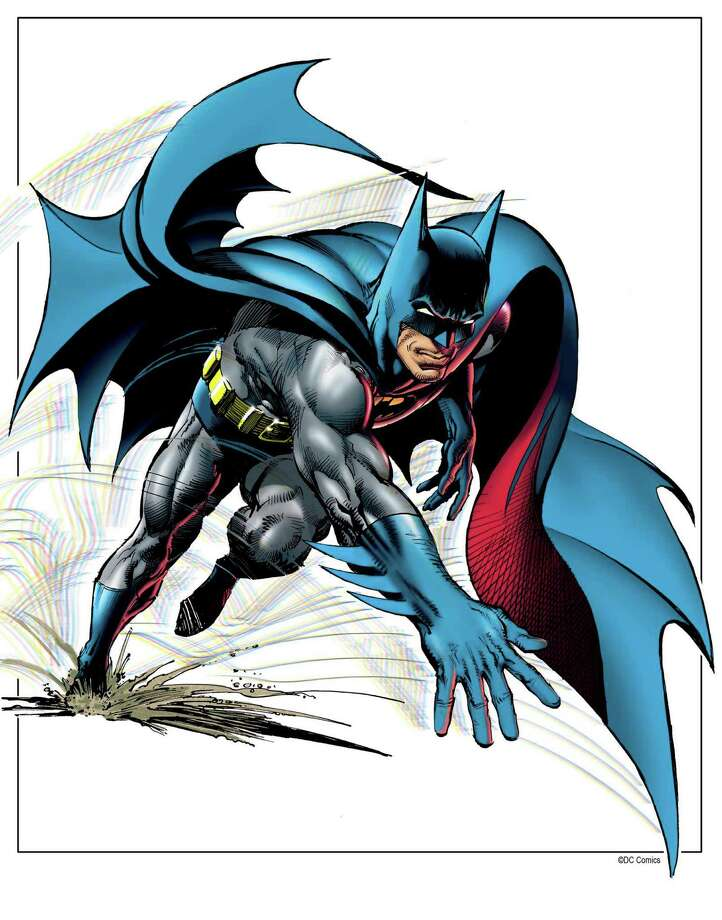 A rendition of Batman by Neal Adams, who will be at Alamo City Comic Con. Photo: DC Comics