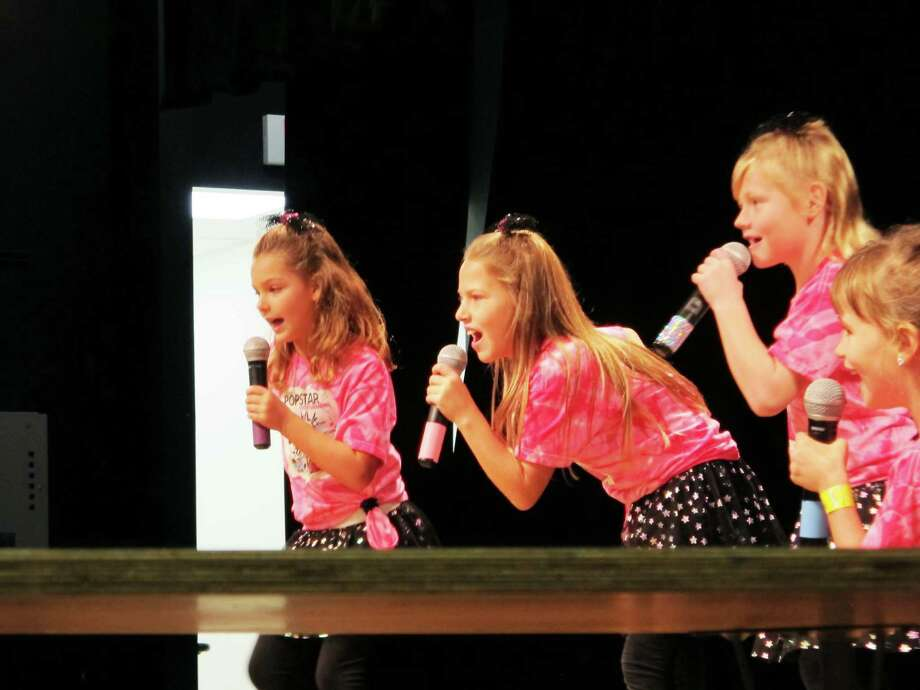 Cline Elementary School students perform during Clinefest Oct. 19. Photo: Provided By Cline Elementary School