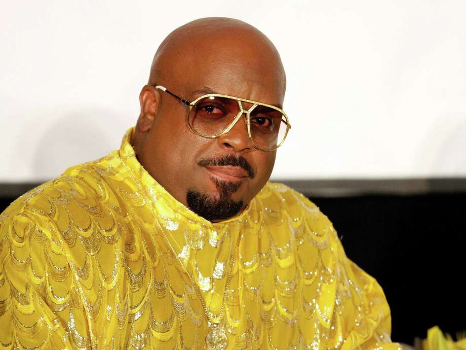 "FILE - In this Sunday, Sept. 29, 2013 file photo, singer/songwriter and rapper Cee Lo Green interviewed legendary artist Little Richard as part of the Recording Academy Atlanta Chapter's ""The Legacy Lounge"" at the W Hotel, in Atlanta, Ga.  Los Angeles prosecutors charged Green, whose real name is Thomas DeCarlo Callaway, with one felony count of furnishing a controlled substance on Monday, Oct. 21, 2013. The singer faces up to four years in prison if convicted. (Photo by Dan Harr/Invision/AP Images, File) Photo: Dan Harr, Dan Harr/Invision/AP / Invision"