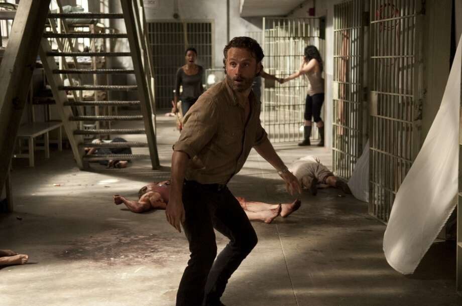 Rick Grimes (Andrew Lincoln) - The Walking Dead _ Season 4, Episode 2 - Photo Credit: Gene Page/AMC