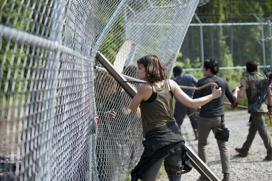 Maggie Greene (Lauren Cohan) - The Walking Dead _ Season 4, Episode 2 - Photo Credit: Gene Page/AMC