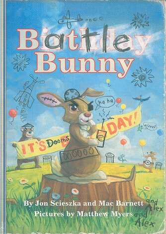 "Bay Area picture book author Mac Barnett has co-written a new book, ""Battle Bunny,"" with his writing idol, Jon Scieszka. The two were at a reading in New York on Sunday and will be appearing together in the Bay Area next week. Photo: Rebecca Smeyne"