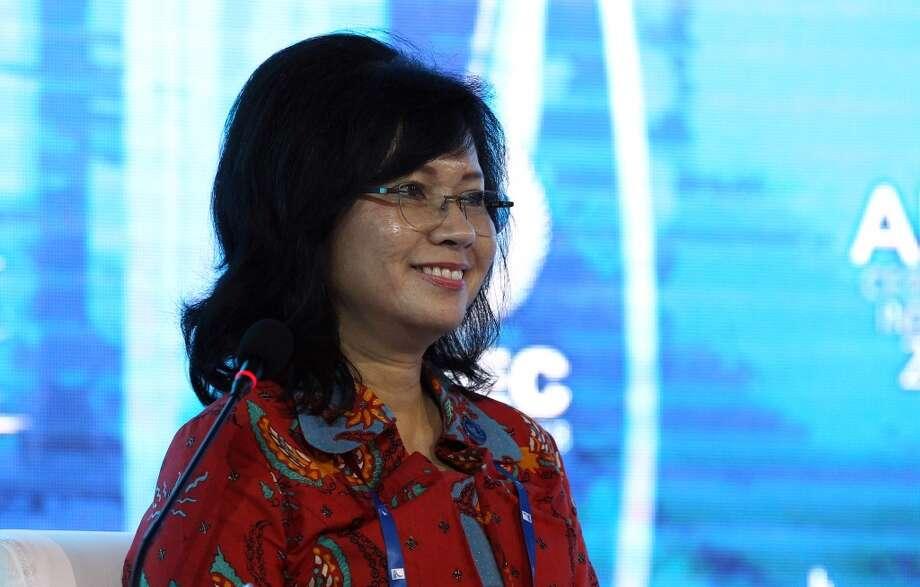 World No. 6 -- Karen Agustiawan, CEO of Petramina Photo: SeongJoon Cho, Bloomberg