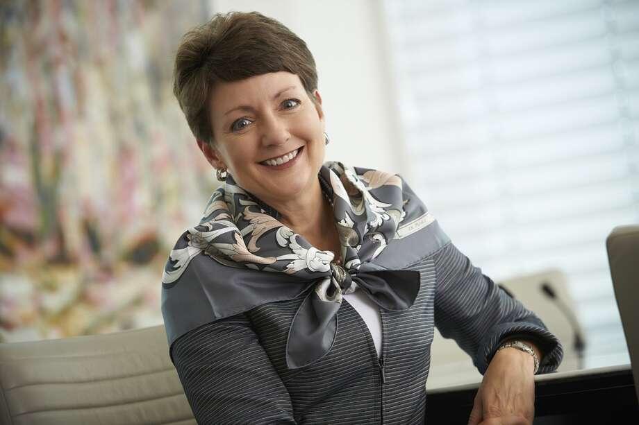 U.S. No. 16 -- Lynn Good, president and CEO of Duke Energy. Photo: Roger Ball        704-904-7584, Duke Energy
