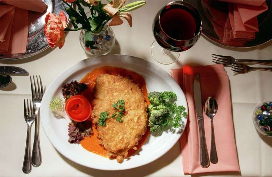 Carmelo's Ristorante Italiano: A la carte menu, served Feb. 14-15. Sample meal (not pictured): beef carpaccio ($13), Caprese salad ($12), veal tenderloin with Marsala sauce ($34). 14795 Memorial, 281-531-0696 Photo: Buster Dean, Houston Chronicle / Houston Chronicle