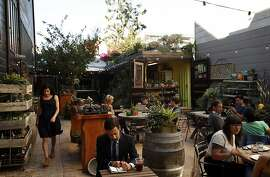 The Lila B. Design center just opened in the courtyard of Stable Cafe in San Francisco, Calif., shown on Wednesday, October 16, 2013.