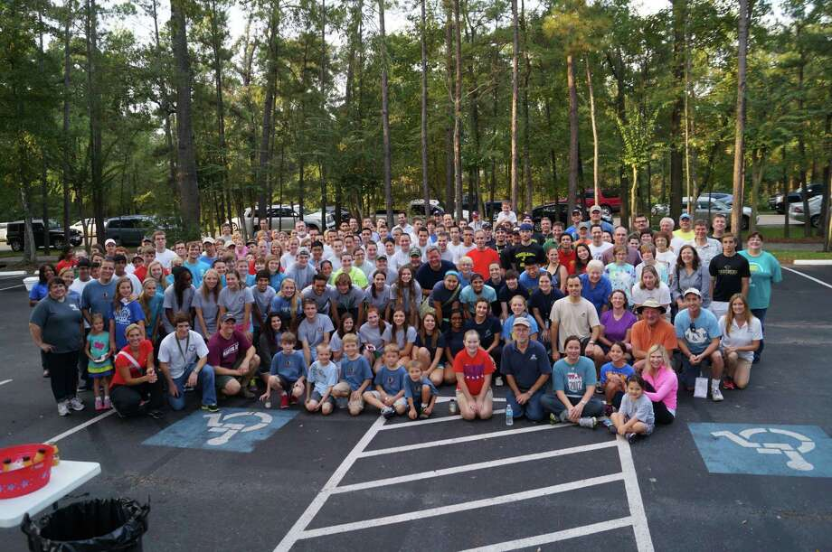 More than 200 volunteers took part in Interfaith of The Woodlands' Serving Our Seniors day of service. Photo: Provided By Interfaith Of The Woodlands