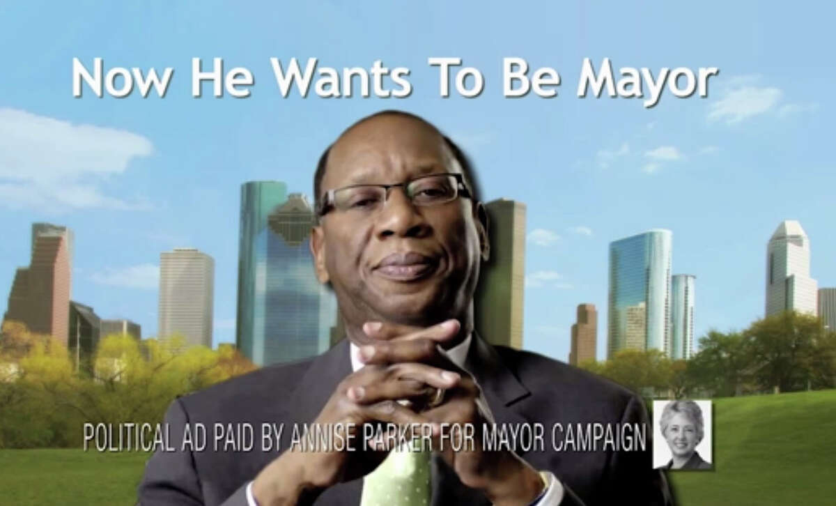 TV ads from the Annise Parker for Mayor Campaign have targeted Ben Hall's residency and tax issues.