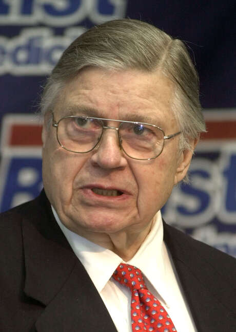 Bud Adams helped found the AFL in 1959. Photo: MARK HUMPHREY, STF / AP