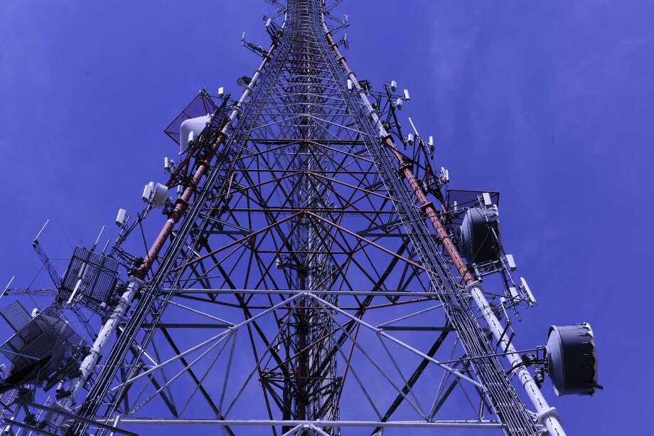 A cellular tower in Pittsburgh that is owned by Houston-based Crown Castle, in this undated photograph provided by the company. Photo: Crown Castle Handout