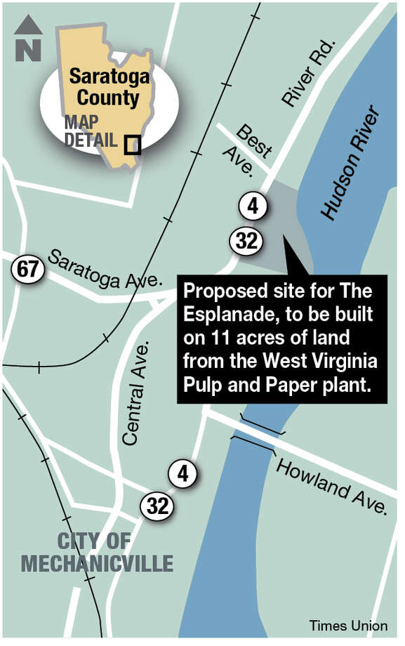 Proposed site for the Esplanade.