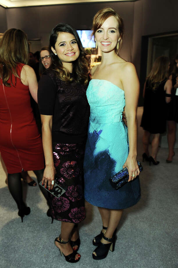 "Actresses Melonie Diaz and Ahna O'Reilly attend the ELLE 20th annual ""Women in Hollywood"" event at the Four Seasons Hotel on Monday, Oct. 21, 2013 in Los Angeles. Photo: Jordan Strauss, Jordan Strauss/Invision/AP / Invision"