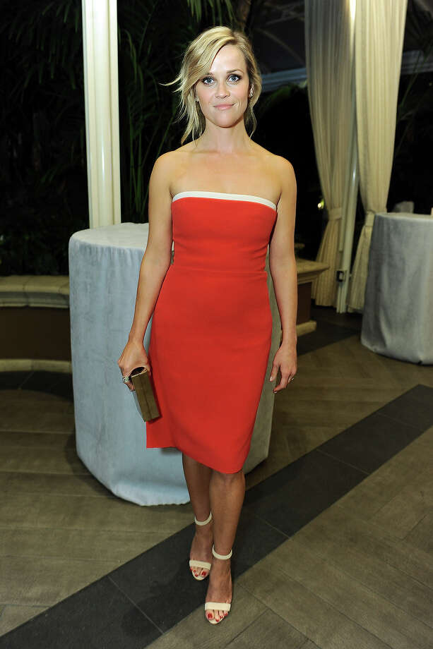 "Actress Reese Witherspoon attends the ELLE 20th annual ""Women in Hollywood"" event at the Four Seasons Hotel on Monday, Oct. 21, 2013 in Los Angeles. Photo: Jordan Strauss, Jordan Strauss/Invision/AP / Invision"