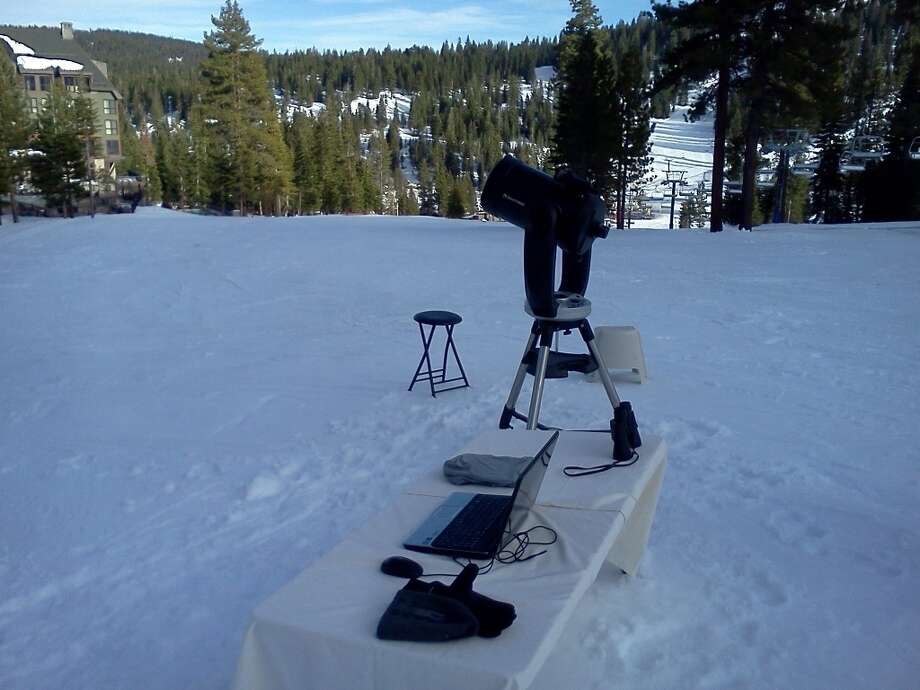Hi-tech viewing in the high wilderness Photo: Tahoe Star Tours