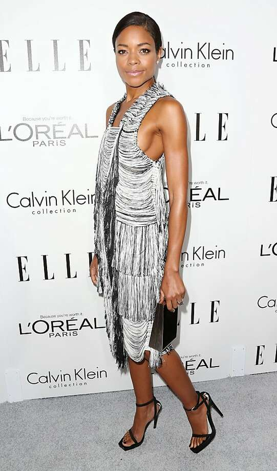 BEVERLY HILLS, CA - OCTOBER 21:  Naomie Harris attends ELLE's 20th Annual Women in Hollywood Celebration at the Four Seasons Hotel Los Angeles at Beverly Hills on October 21, 2013 in Beverly Hills, California.  (Photo by Frederick M. Brown/Getty Images) Photo: Frederick M. Brown, Getty Images