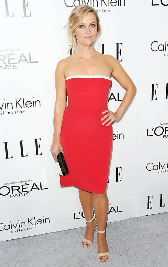 BEVERLY HILLS, CA - OCTOBER 21:  Actress Reese Witherspoon attends ELLE's 20th Annual Women in Hollywood Celebration at the Four Seasons Hotel Los Angeles at Beverly Hills on October 21, 2013 in Beverly Hills, California.  (Photo by Frederick M. Brown/Getty Images) Photo: Frederick M. Brown, Getty Images