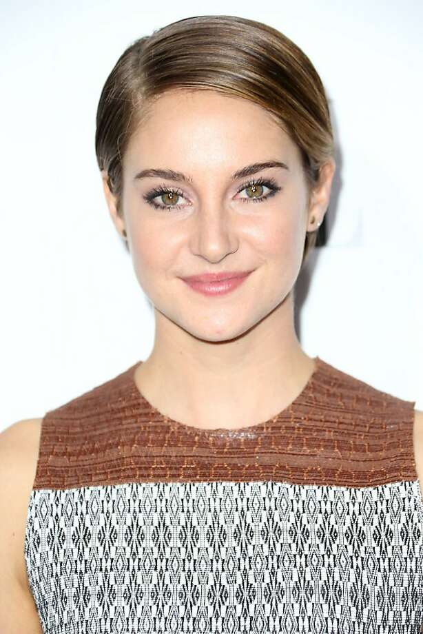 BEVERLY HILLS, CA - OCTOBER 21:  Actress Shailene Woodley attends ELLE's 20th Annual Women in Hollywood Celebration at the Four Seasons Hotel Los Angeles at Beverly Hills on October 21, 2013 in Beverly Hills, California.  (Photo by Frederick M. Brown/Getty Images) Photo: Frederick M. Brown, Getty Images