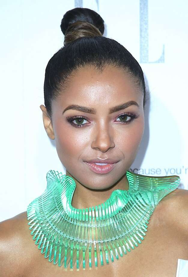 BEVERLY HILLS, CA - OCTOBER 21:  Actress Kat Graham attends ELLE's 20th Annual Women in Hollywood Celebration at the Four Seasons Hotel Los Angeles at Beverly Hills on October 21, 2013 in Beverly Hills, California.  (Photo by Frederick M. Brown/Getty Images) Photo: Frederick M. Brown, Getty Images