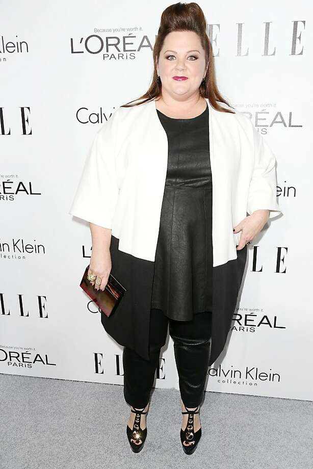 BEVERLY HILLS, CA - OCTOBER 21:  Actress Melissa McCarthy attends ELLE's 20th Annual Women in Hollywood Celebration at the Four Seasons Hotel Los Angeles at Beverly Hills on October 21, 2013 in Beverly Hills, California.  (Photo by Frederick M. Brown/Getty Images for  ELLE) Photo: Frederick M. Brown, Getty Images