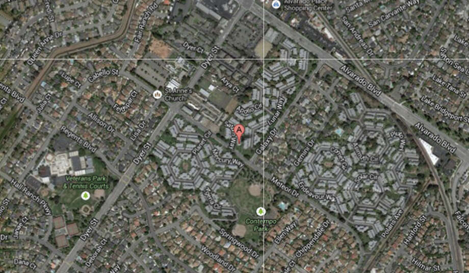 4200 block of Saturn Way, Union City, CA Photo: Google Maps